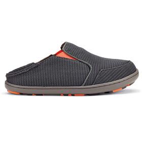 OluKai Boys Nohea Mesh Shoes Dark Shadow/Blaze